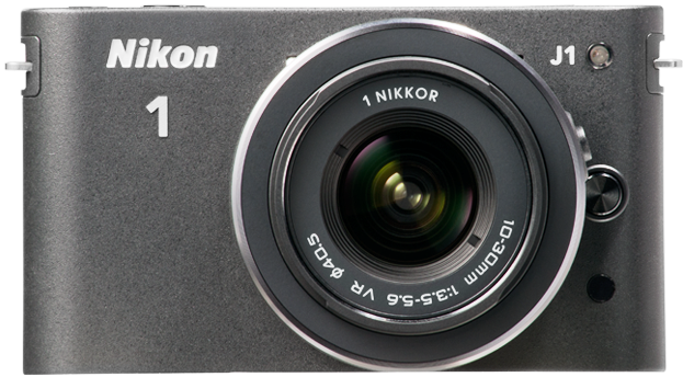 Nikon 1 J1 (with 10-30mm lens, Black)