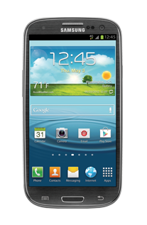 Samsung Galaxy S III - 16GB - titanium gray (T-Mobile)