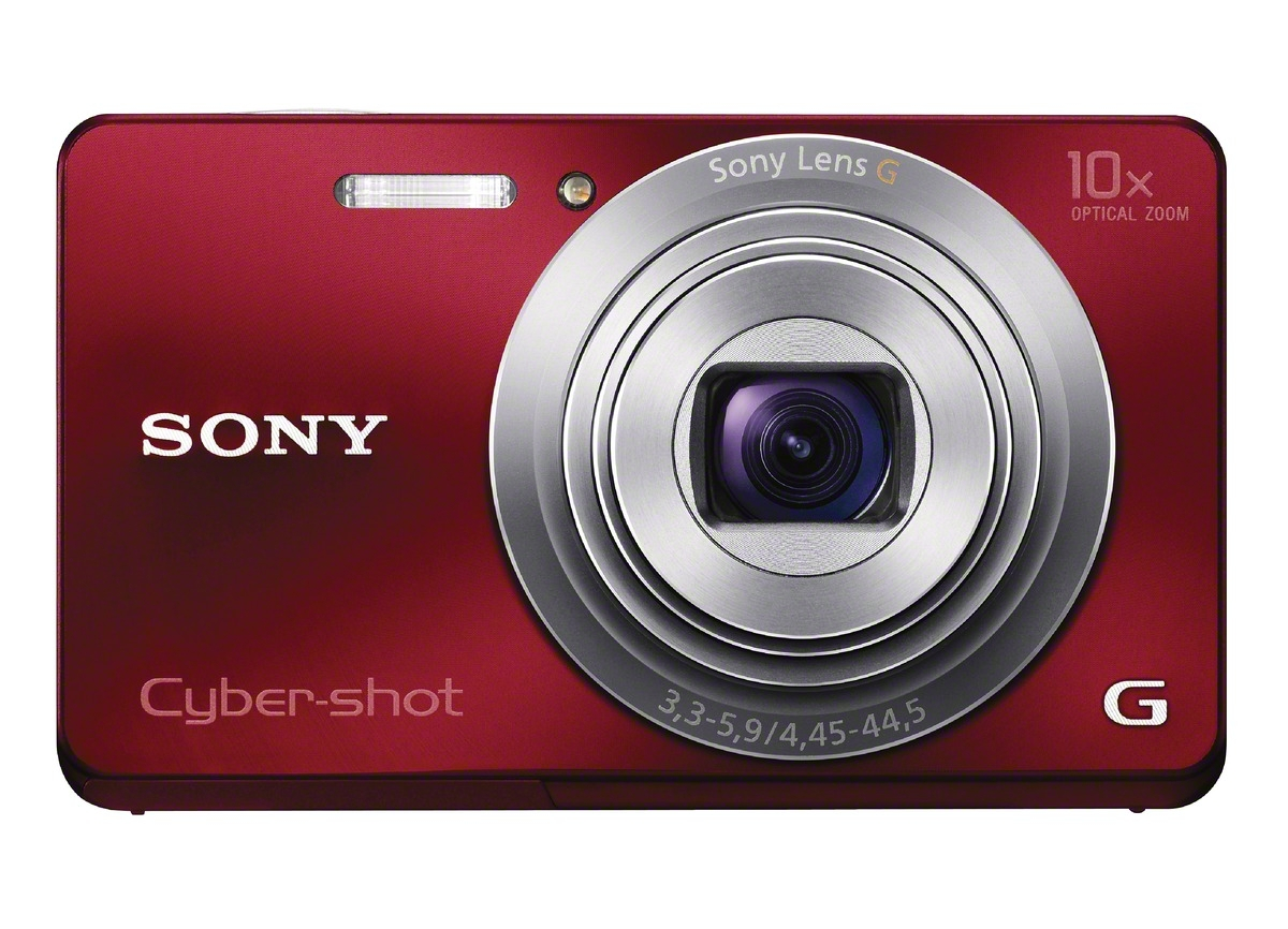 Sony Cyber-shot DSC-W690 (Red)