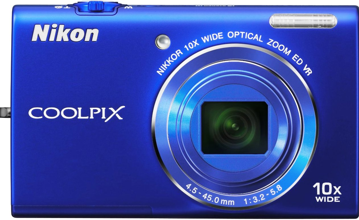 Nikon Coolpix S6200 (Blue)