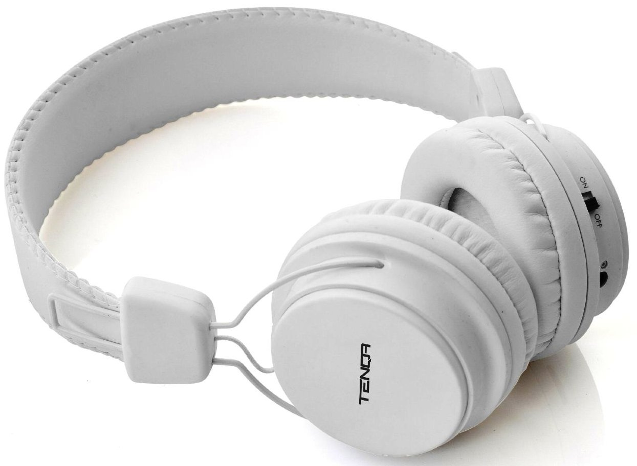 Tenqa Remxd Bluetooth Headphones (White)