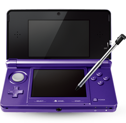 Nintendo 3DS (Midnight Purple)