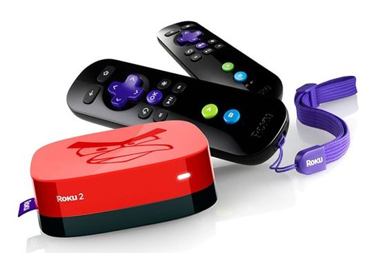 A red Roku? With two remotes? For 50 bucks? Yes, please!