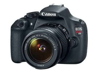 Canon EOS Rebel T5 - digital camera EF-S 18-55mm IS II and EF 75-300mm III lenses