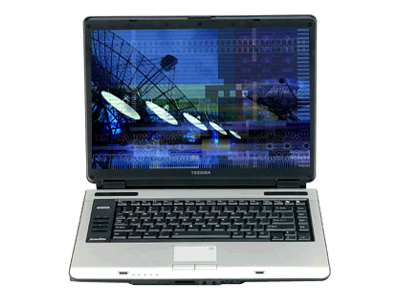 Toshiba Satellite A105-S101 (Celeron M 1.6 GHz, 256 MB RAM, 60 GB HDD)
