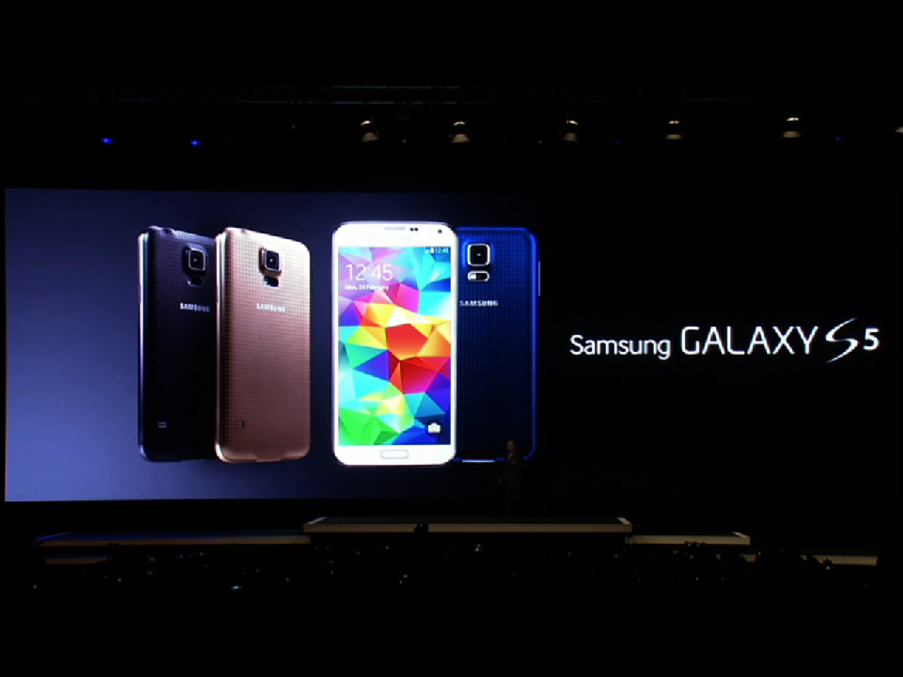 Video: Samsung introduces Galaxy S5 smartphone