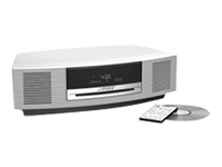 Bose Wave music system (platinum white)