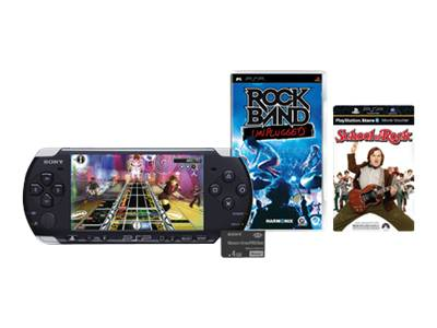 Sony PSP 3000 Rock Band Unplugged Bundle