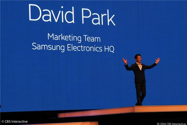 David Park of Samsung Marketing Team took the stage to open the Unpacked event.