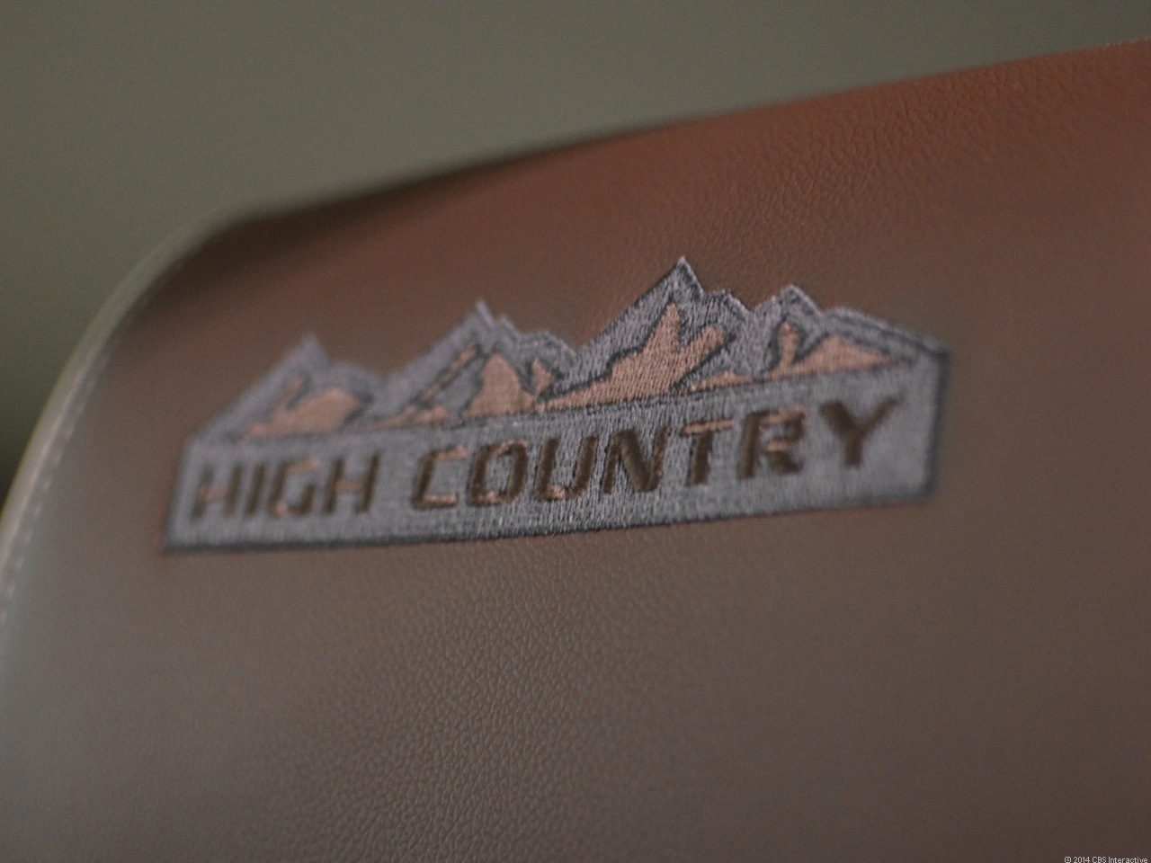 High Country headrest