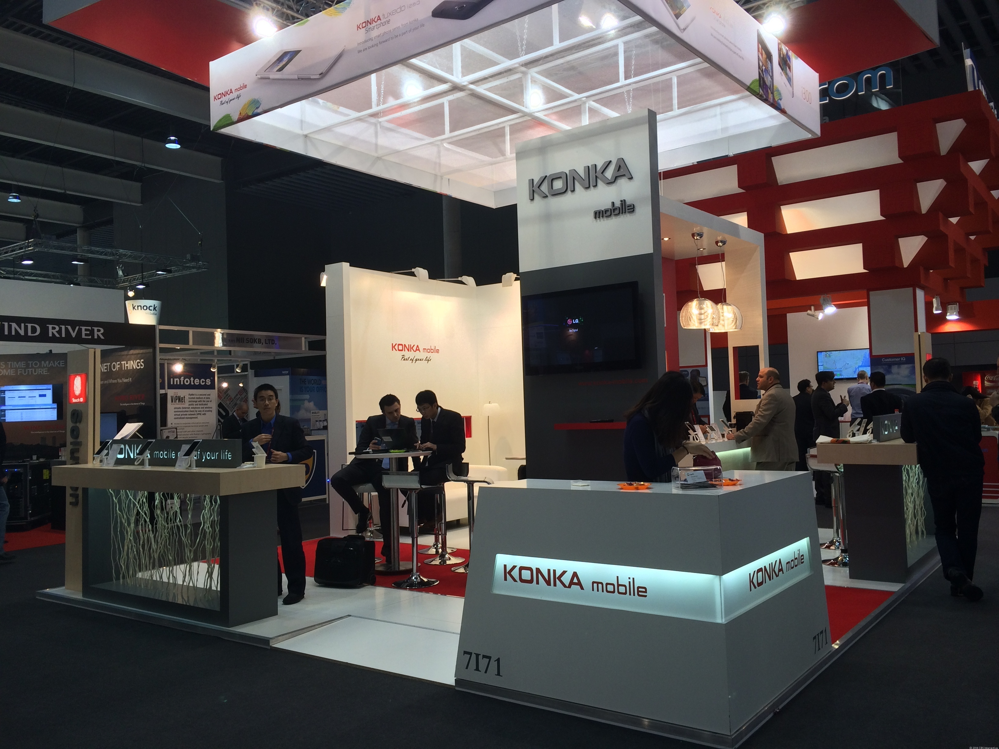 Based in Shenzhen, China, Konka Mobile isn't widely distributed around the world, but if you live in India, you've probably heard of this brand.
