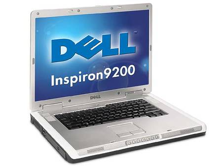 Dell Inspiron 9200 for Home (Pentium M 1.60GHz, 256MB, CD-RW/DVD)