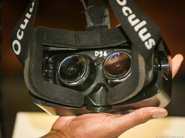 Oculus has teamed with Samsung to make a VR headset for mobile devices