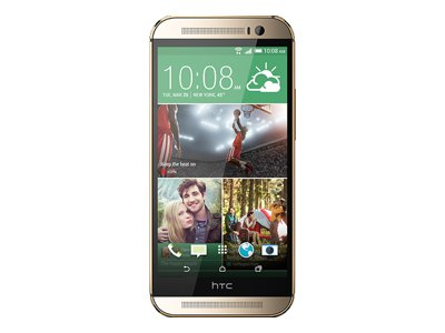 HTC One M8 - Amber Gold