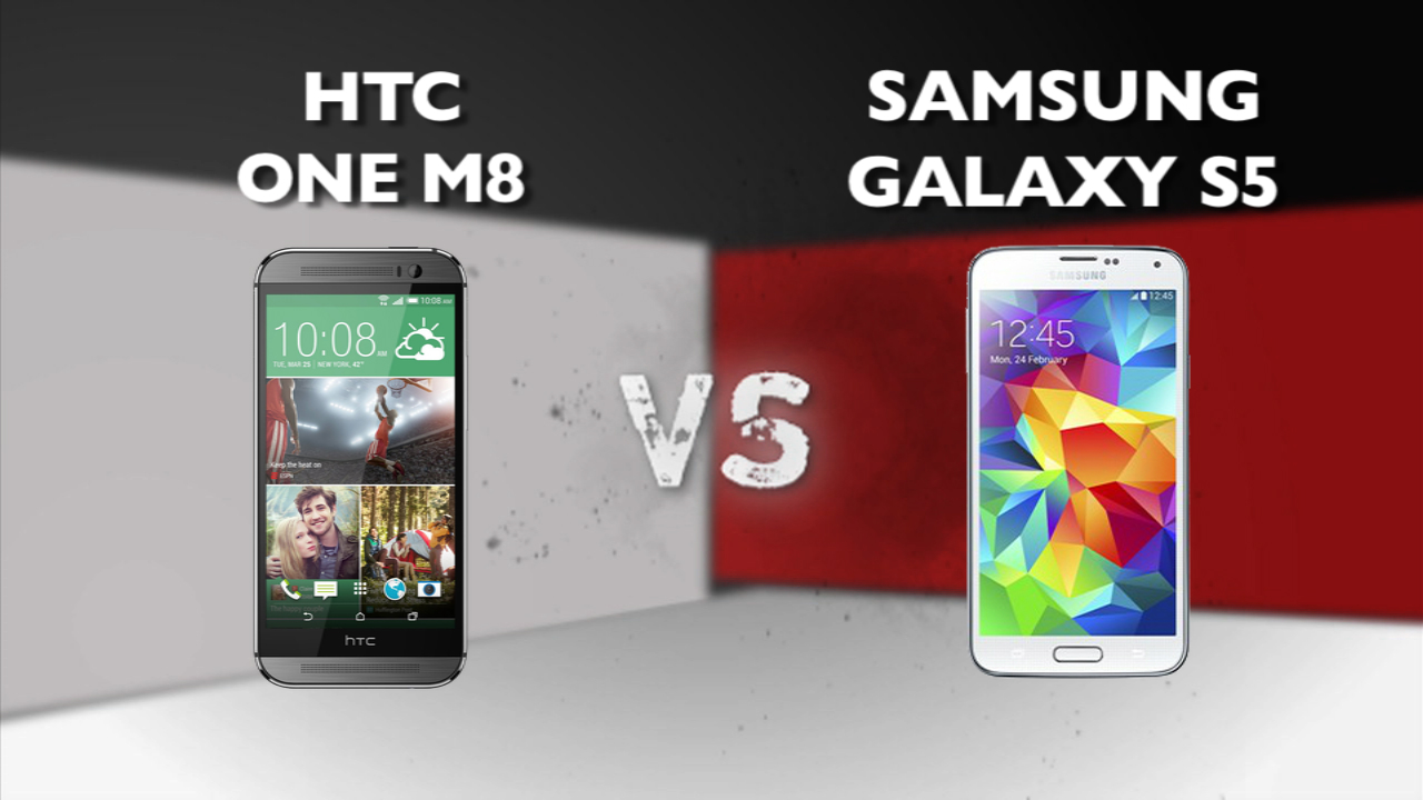 Video: HTC One (M8) vs. Samsung Galaxy S5
