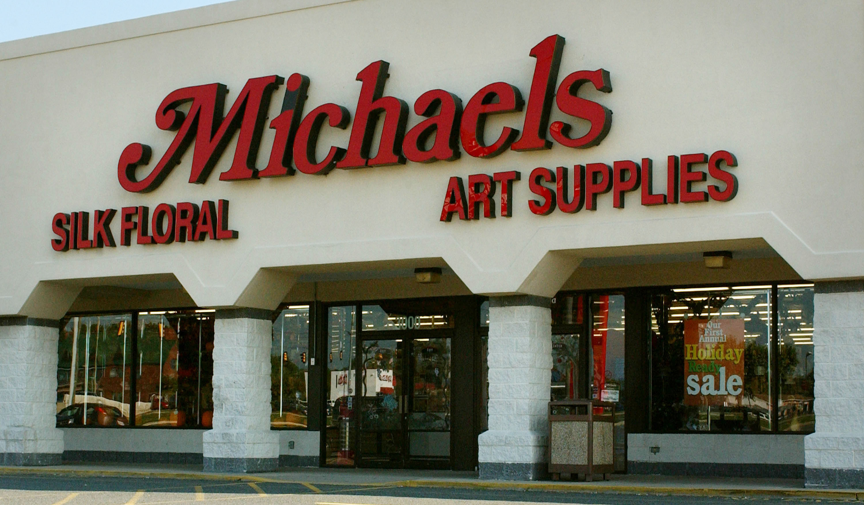 FREDRICKSBURG,  VA - OCTOBER 12:  (FILE PHOTO)  The Michael's Craft Store, where a women was shot and wounded, is shown October 12, 2002 in Fredricksburg, Virginia.  (Photo by Mark Wilson/Getty Images)