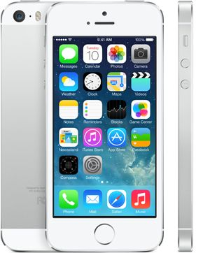 Apple iPhone 5s (16GB - Silver)