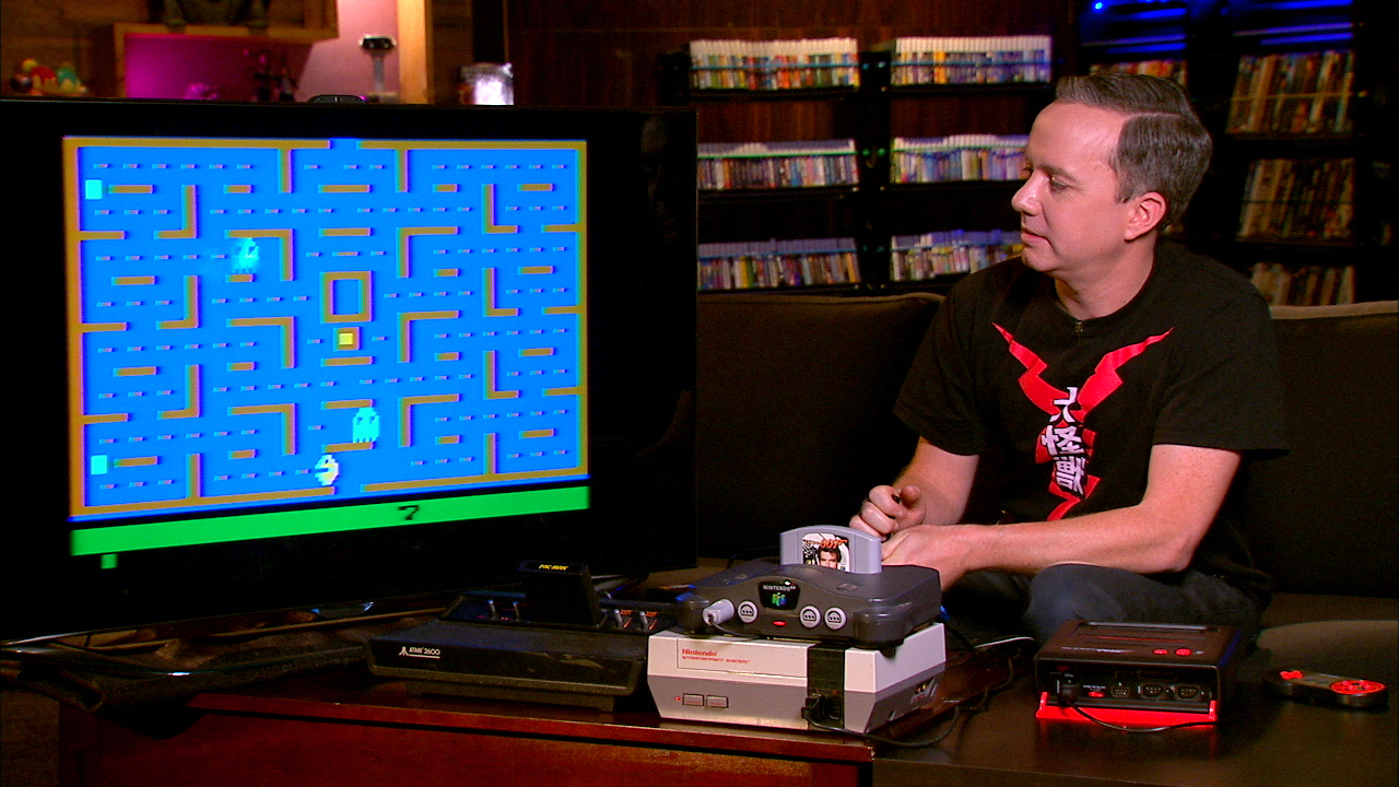 Video: Vintage video games make a comeback