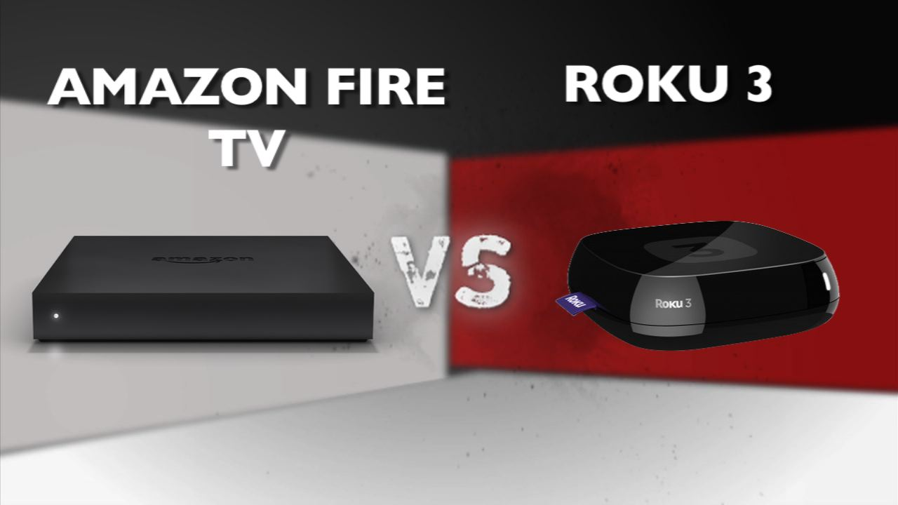 Video: Amazon Fire TV vs Roku 3