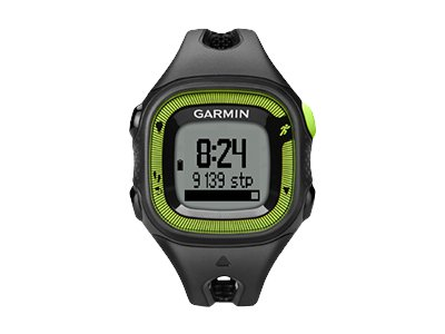 Garmin Forerunner 15 (black/green - Watch Only)