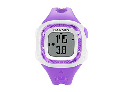 Garmin Forerunner 15 (violet/white - w/Heart Rate Monitor)