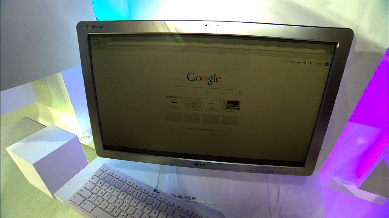 Video: LG Chromebase