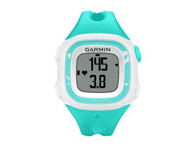 Garmin Forerunner 15 (teal/white - w/Heart Rate Monitor)