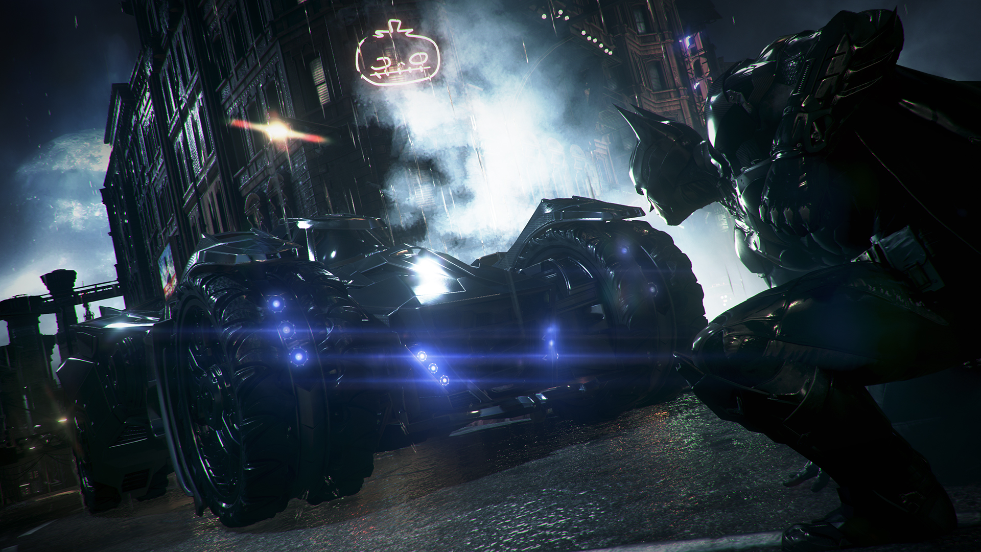 Video: Batman: Arkham Knight (gameplay trailer)