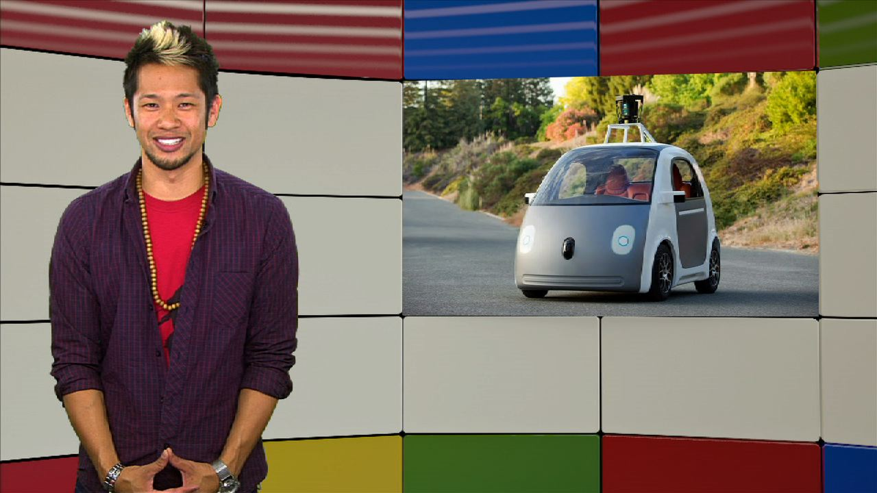 Video: Google unveils their first self-driving car