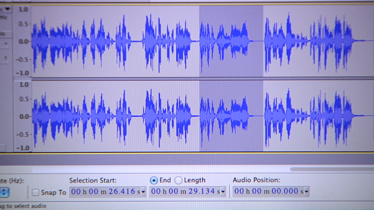 Video: Edit your podcast using Audacity