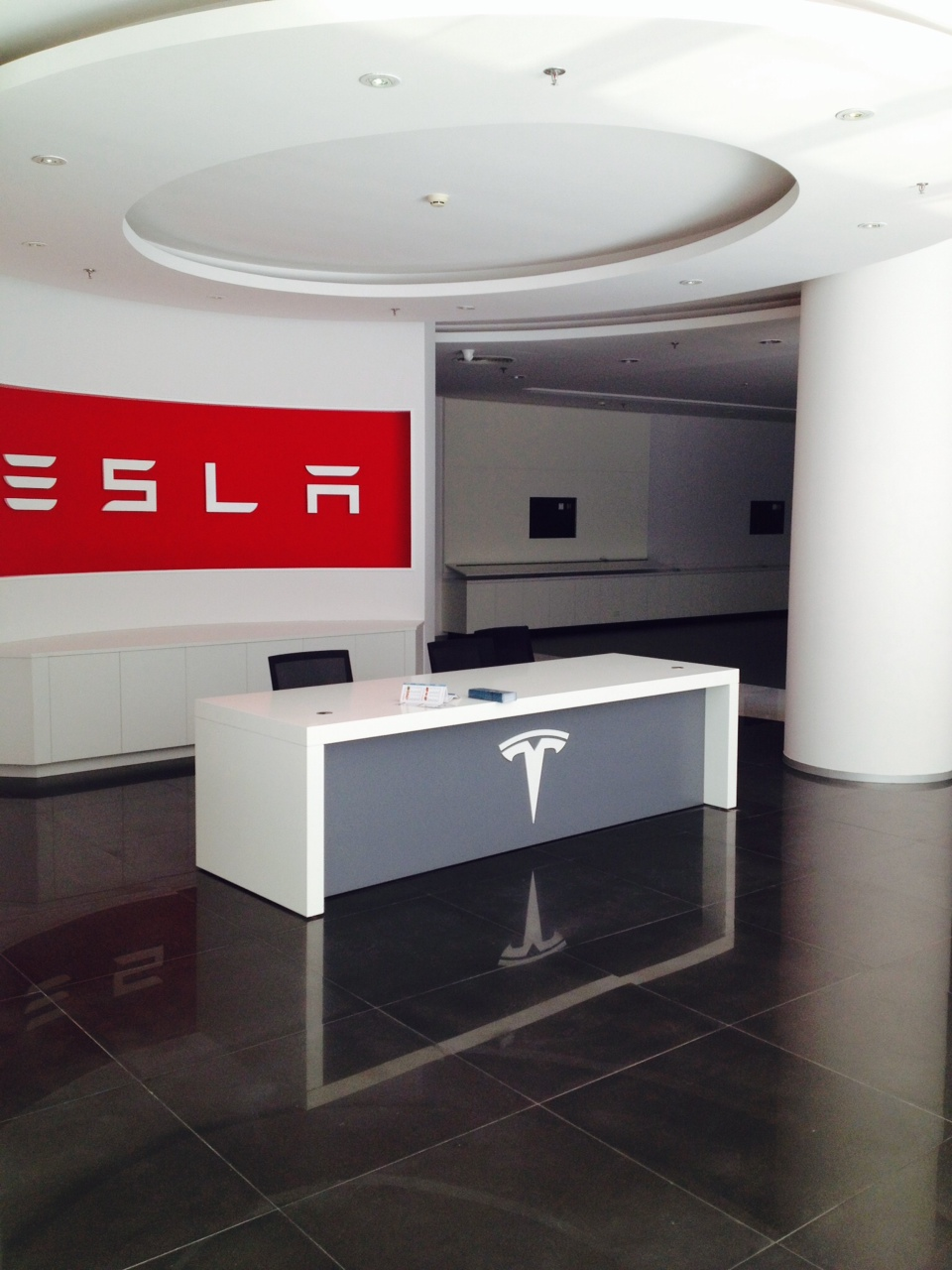 Tesls Beijing office