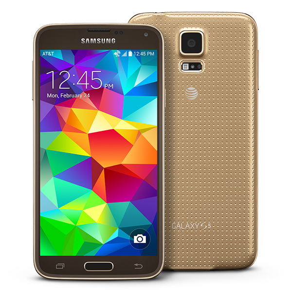 Samsung Galaxy S5 (Copper Gold)
