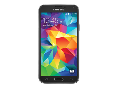 Samsung Galaxy S5 GoPhone (AT&T - charcoal black)