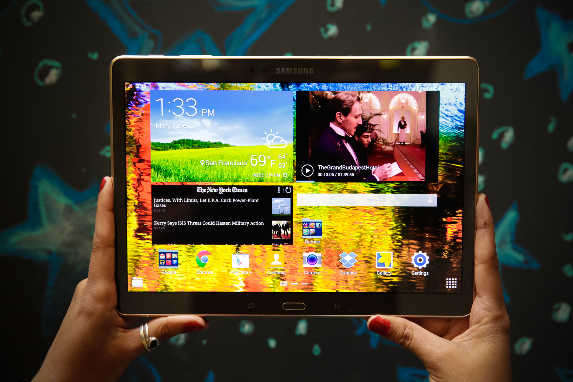Samsung galaxy tab s review cnet for Samsung galaxy s tablet
