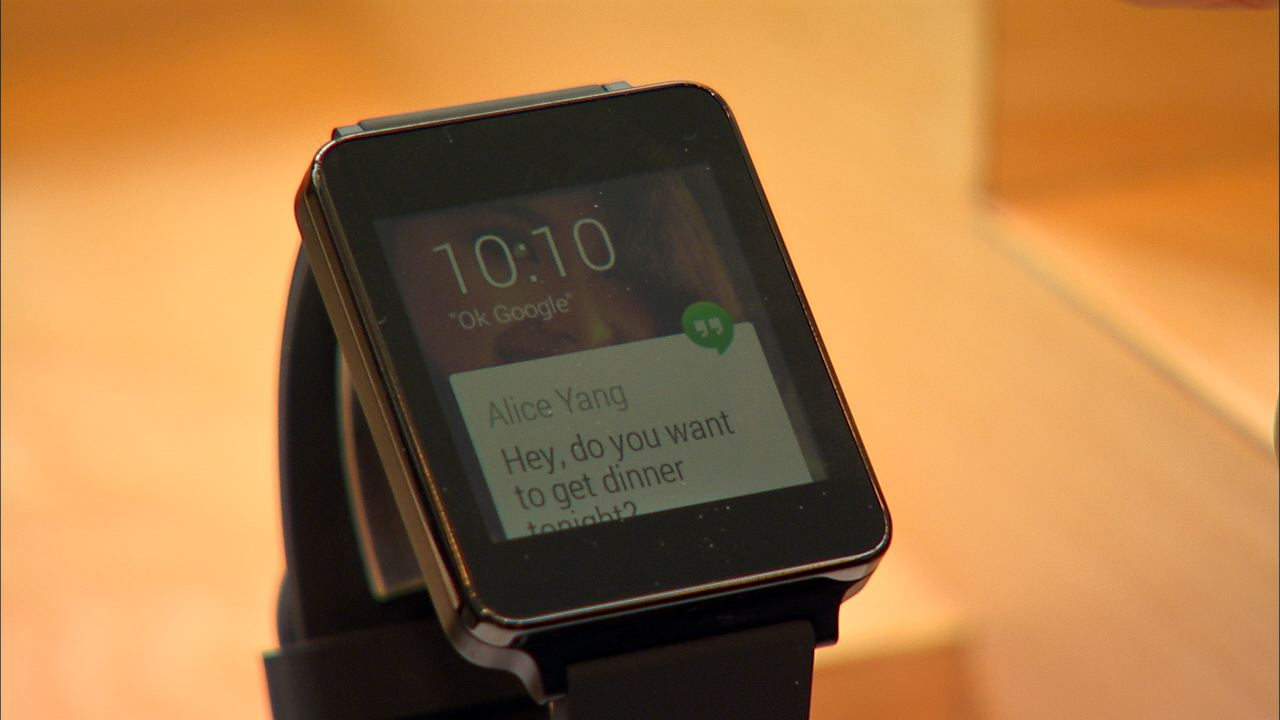 Video: LG G smartwatch sports Android Wear UI and rectangular face
