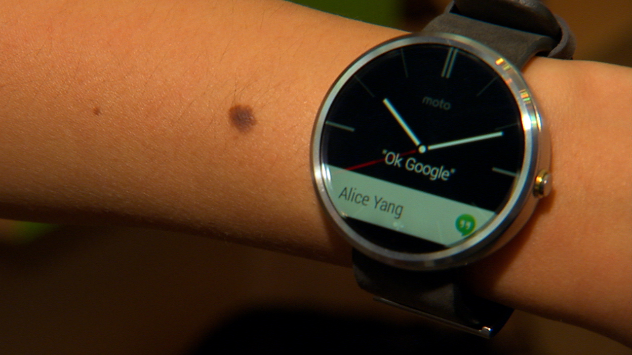 Video: Moto 360, a sleek, circular smartwatch with Android Wear