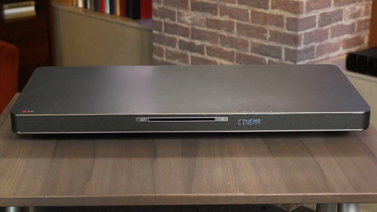 Video: LG's LAB540W SoundPlate is a talented performer