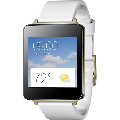 LG G Watch (white gold)