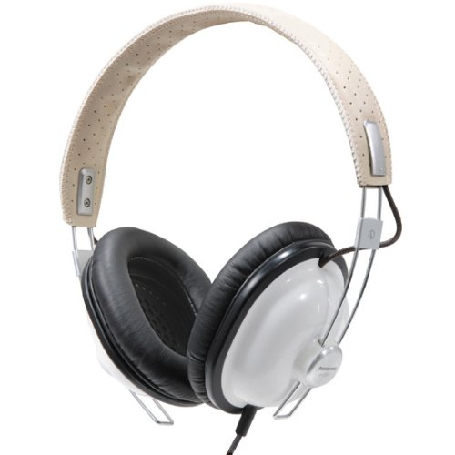 Panasonic RP-HTX7 Monitor Stereo Headphones (White)