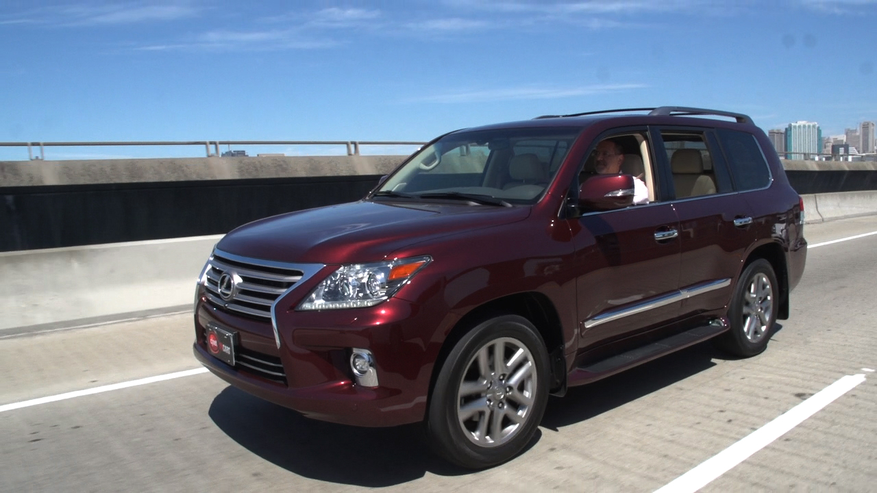 Video: 2014 Lexus LX 570