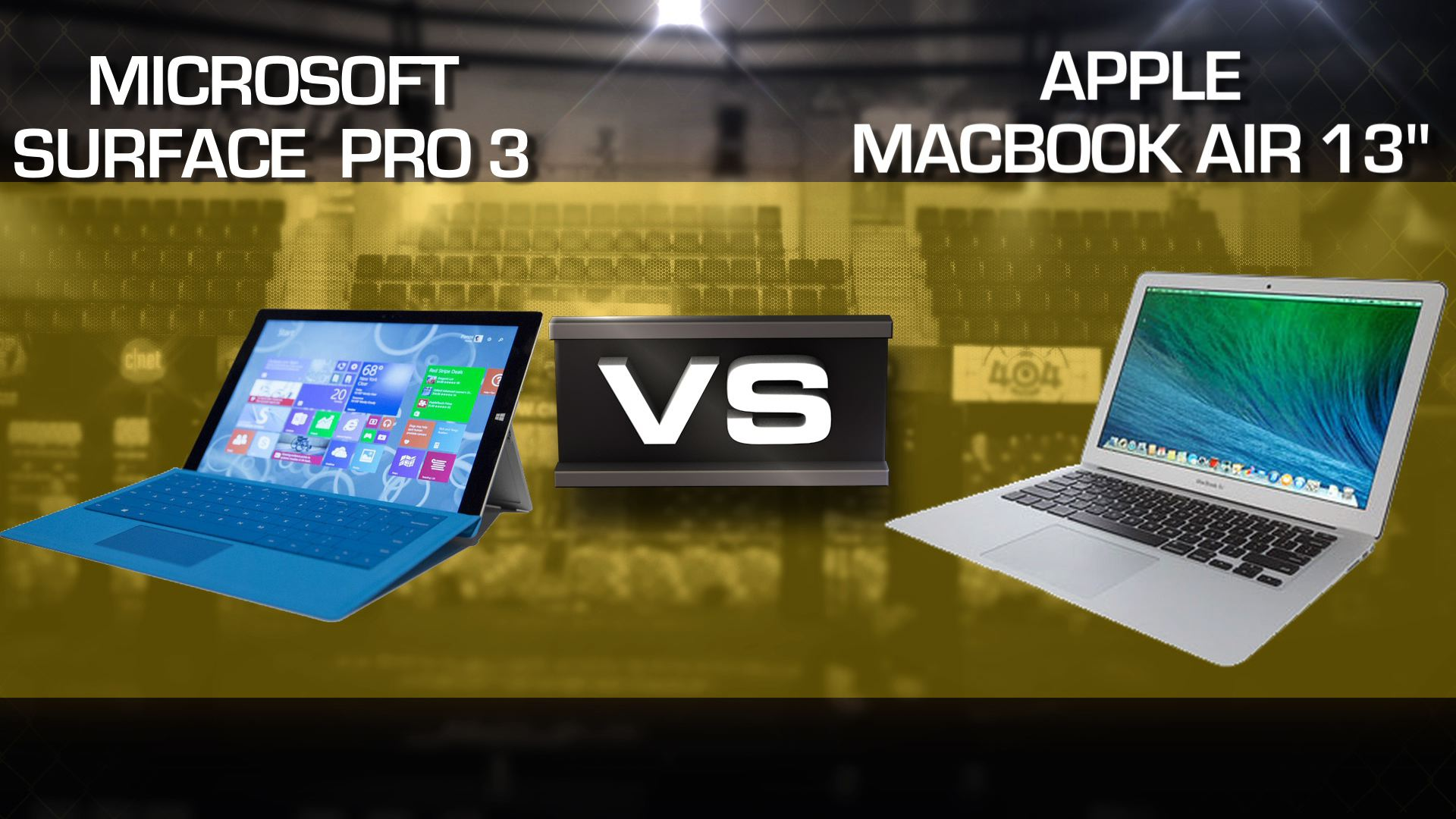 "Video: Microsoft Surface Pro 3 vs. MacBook Air 13"" 2014"