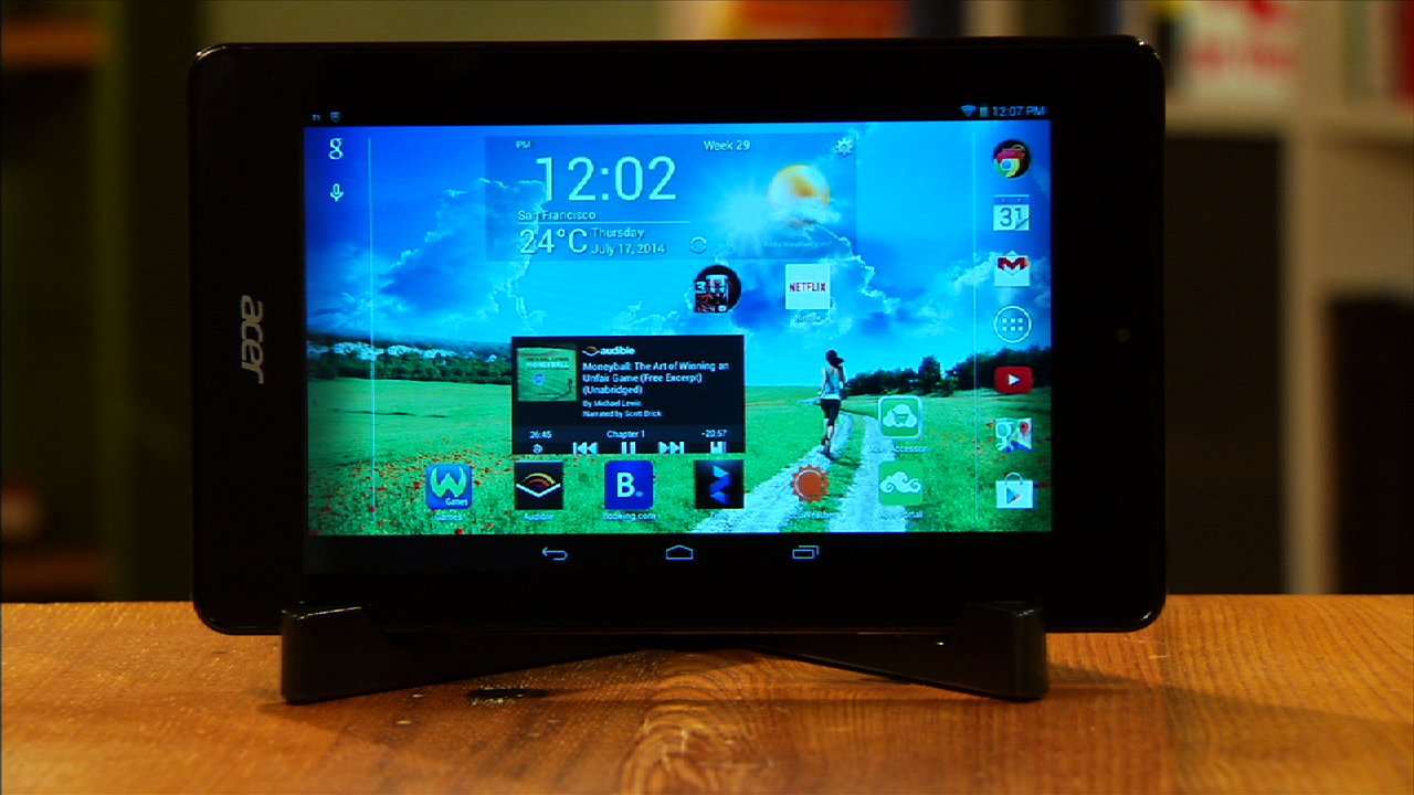 Video: Acer Iconia One 7 is a simple slate with a cut-rate price