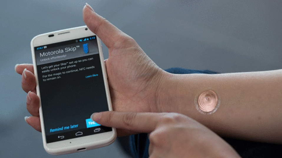 Motorola taps 'digital tattoo'