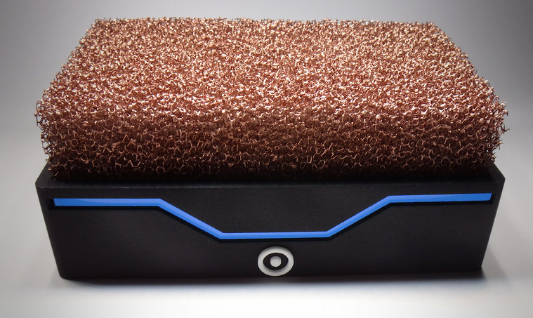 Fan-free PC uses copper foam
