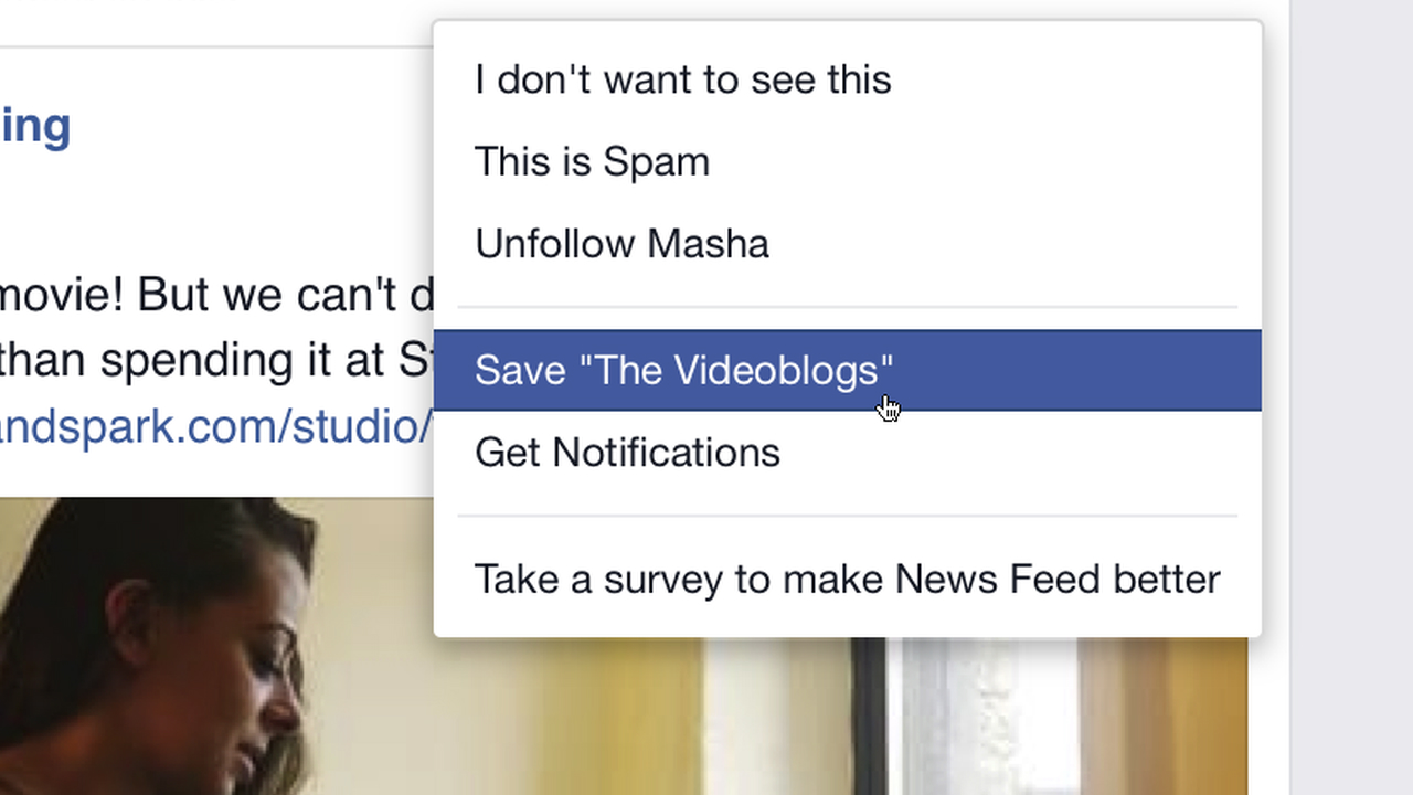 Video: Save links on Facebook
