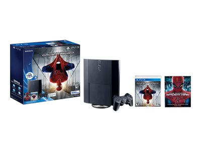 Sony PlayStation 3 Super Slim (500GB) The Amazing Spider-Man 2 Bundle
