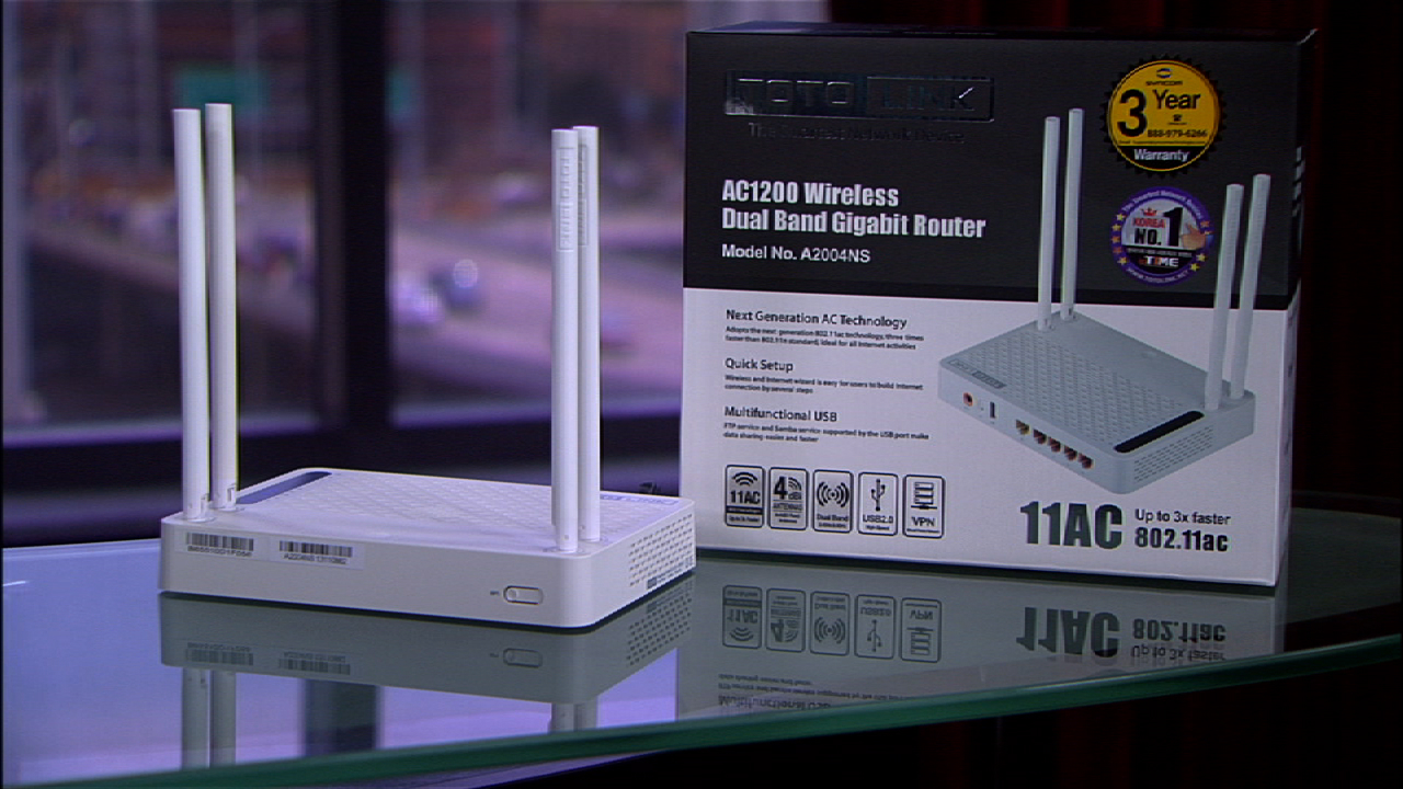 Video: The Totolink A2004NS is a great home Wi-Fi router, with a little catch