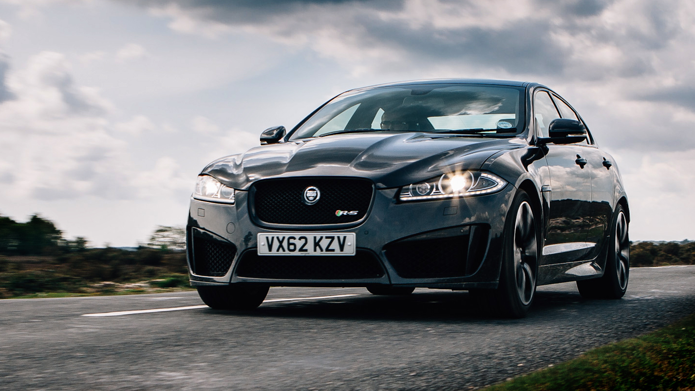 Video: Jaguar XFR-S: Unleash your inner child