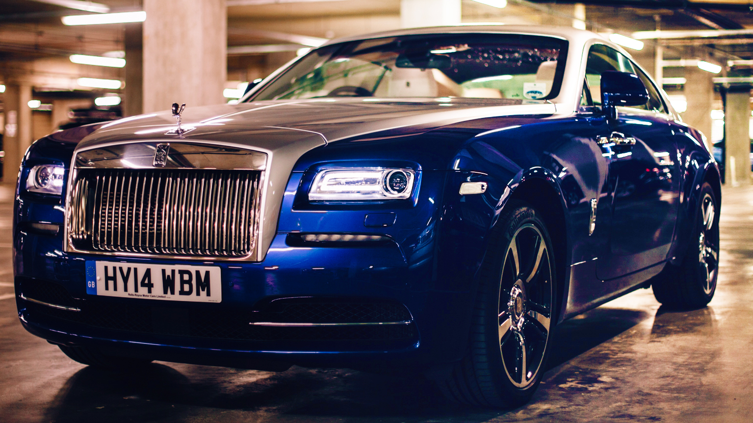 Video: Rolls-Royce Wraith: Silent running