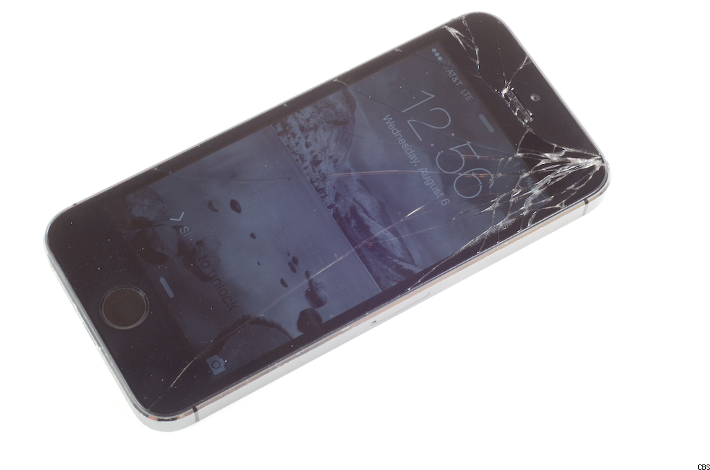 Video: Replace a broken iPhone 5S screen